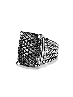 David Yurman - Wheaton Ring with Black and White Diamonds