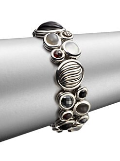 David Yurman - Diamond Accented Semi-Precious Multi-Stone Cluster Bracelet