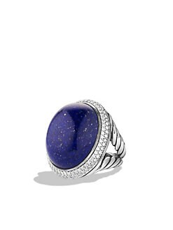David Yurman - Lapis Sterling Silver Ring