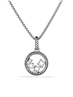 David Yurman - Diamond & Sterling Silver Enhancer