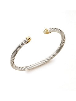 David Yurman - Child's Opal & Sterling Silver Birthstone Bracelet/October