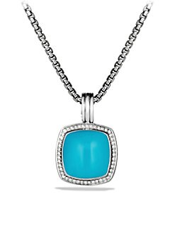 David Yurman - Diamond Accented Turquoise Enhancer