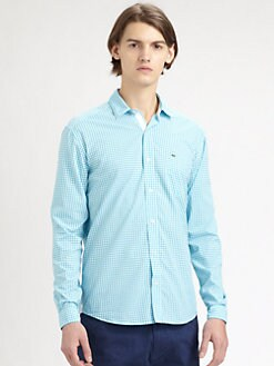 Lacoste - Gingham Sportshirt
