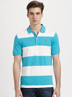 Lacoste - Striped Jersey Polo