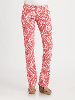 Lilly Pulitzer - Worth Straight-Leg Jeans