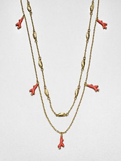 Lilly Pulitzer - Washed Up Double Chain Necklace