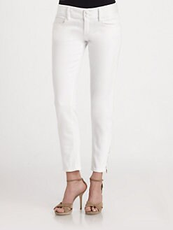 Lilly Pulitzer - Worth Skinny Mini Zip Jeans