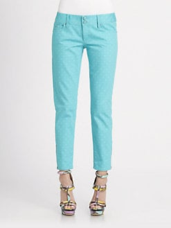 Lilly Pulitzer - Printed Worth Skinny Mini Jeans