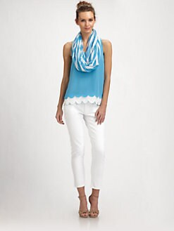 Lilly Pulitzer - Silk Carlina Top
