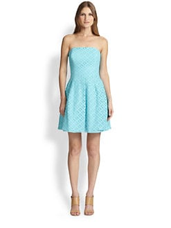 Lilly Pulitzer - Caitlin Embroidered-Lace Dress