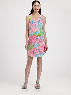 Lilly Pulitzer - Printed Cordon Dress