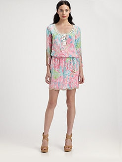 Lilly Pulitzer - Printed Delisa Dress