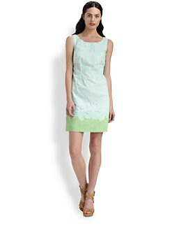 Lilly Pulitzer - Capricia Two-Tone Eyelet Dress