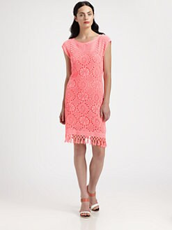 Lilly Pulitzer - Adabelle Crocheted Lace Knit Dress