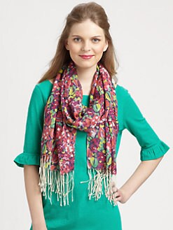 Lilly Pulitzer - Murfee Silk/Cashmere Scarf