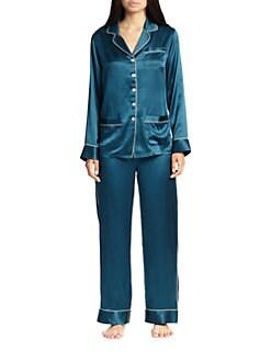 Olivia Von Halle - Silk Pajama Set