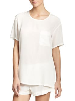 Araks - Easton Silk T-Shirt