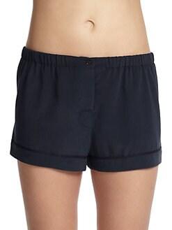 Araks - Tia Solid Silk Boxer Shorts