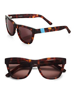 Westward Leaning - Sleeping Beauty Acetate Square Sunglasses