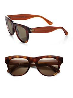 Bottega Veneta - Square Acetate Sunglasses