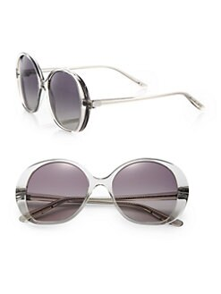 Bottega Veneta - Oversized Round Sunglasses