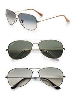 Ray-Ban - Cockpit Aviator Sunglasses