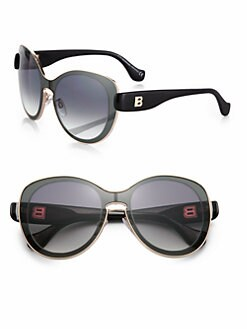 Balenciaga - Round High Tech Sunglasses
