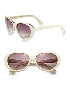 Balenciaga - Modern Round Cat's-Eye Sunglasses