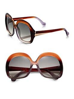 Balenciaga - Oversized Vintage Square Sunglasses