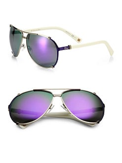 Dior - Metal Aviator Sunglasses