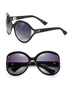 Dior - Semi-Matte Oversized Sunglasses