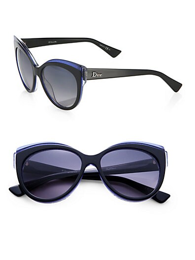 Glisten Oversized Rectangular Sunglasses