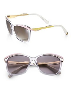 Dior - Metal & Plastic Cat's-Eye Sunglasses