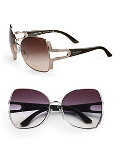 BVLGARI - Parenthesi Shield Sunglasses