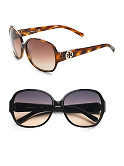 Tory Burch - Large Round Sunglasses