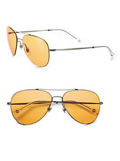 Gucci - Round Metal Sunglasses
