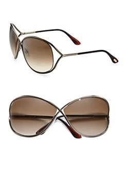 Tom Ford Eyewear - Miranda Oval Sunglasses