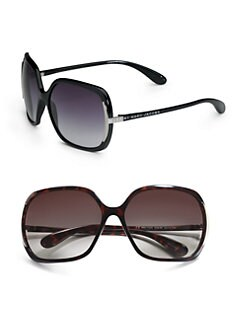 Marc by Marc Jacobs - Square Metal Temple Sunglasses