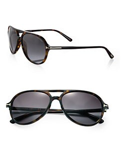 Tom Ford Eyewear - Jared Plastic Aviator Sunglasses
