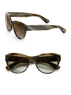Oliver Peoples - Mandee Cat's-Eye Acetate Sunglasses
