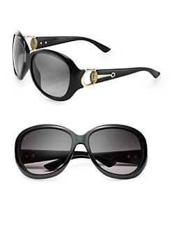 Gucci - Horsebit 59mm Round Sunglasses