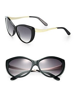 Alexander McQueen - Cat's-Eye Sunglasses