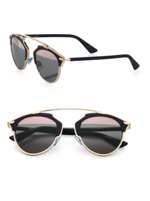 DIOR So Real 48MM Pantos Sunglasses