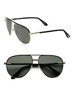 Tom Ford Eyewear - Cole Polarized Aviator Sunglasses