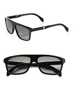 Alexander McQueen - Shield Square Sunglasses