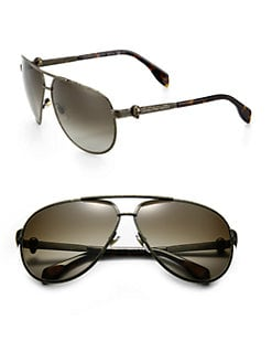 Alexander McQueen - Aviator Sunglasses