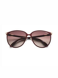 Jimmy Choo - Juliet Cat's-Eye Metal Sunglasses