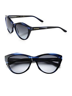 Saint Laurent - Cat's-Eye Acetate Sunglasses