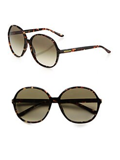 Saint Laurent - Round Acetate Sunglasses