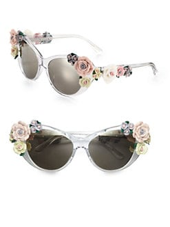 Dolce & Gabbana - Garden Flowers Cat's-Eye Sunglasses